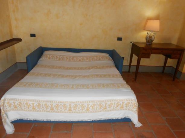 Divano letto, appartamenti vacanza, vicino Assisi