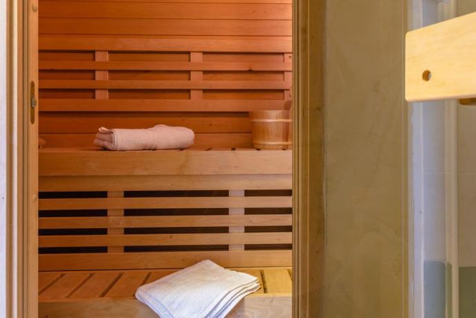 Sauna: in casale vacanza a Montebuono di Rieti