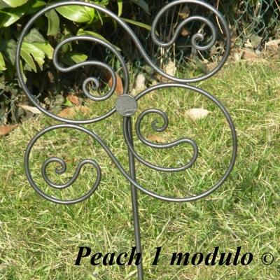 Bordure giardino in ferro battuto vendita bordure per for Decorazioni giardino aiuole