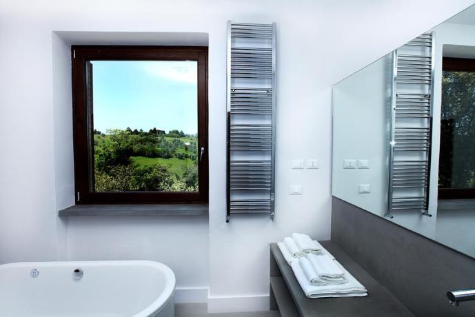 Umbria Resort, Camera Matrimoniale Deluxe con Bagno