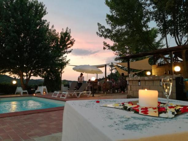 Umbria Resort SPA: Servizio ristorante bordo piscina