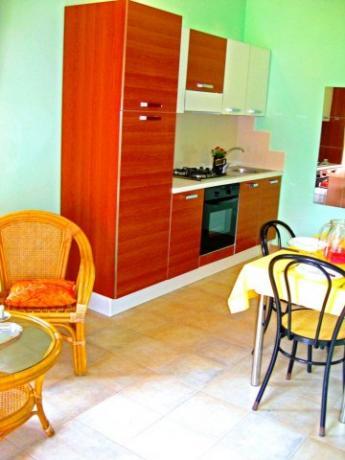 Appartamenti con angolo cottura attrezzato