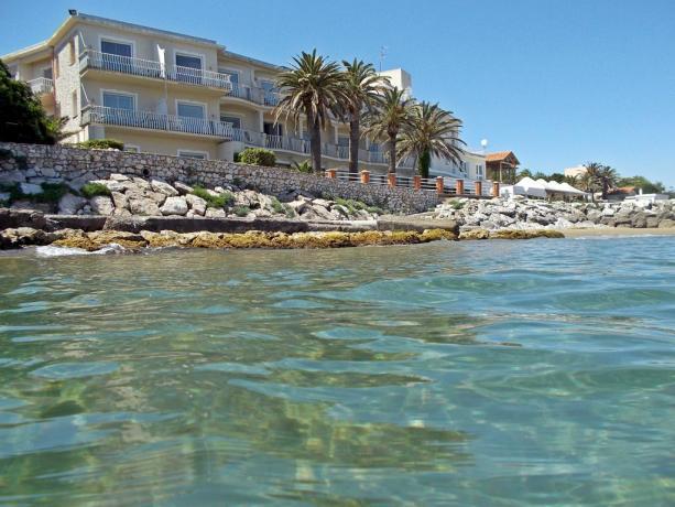 Hotel costa Laziale con vista sul mare