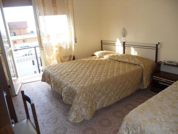 Camera Tripla con Balcone Hotel in Abruzzo