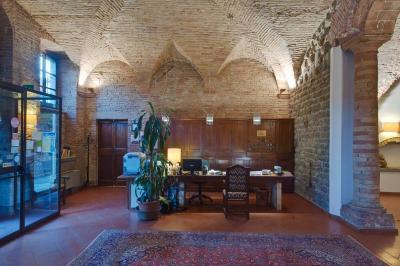 Reception dell'albergo vicino Assisi