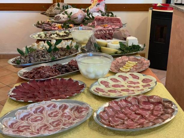 Colazione a Buffet in Locanda a Bosco