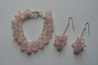 Bracciali orecchini collane originali e personalizzati for Orecchini con pietre dure fai da te