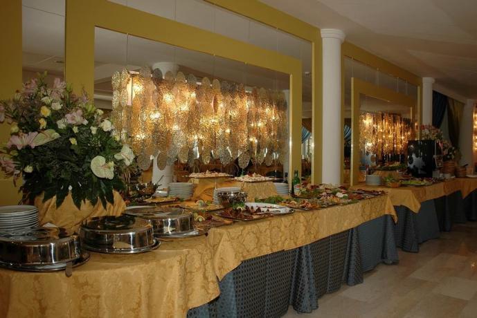 American Breakfast in Hotel 4stelle a Baia Domizia