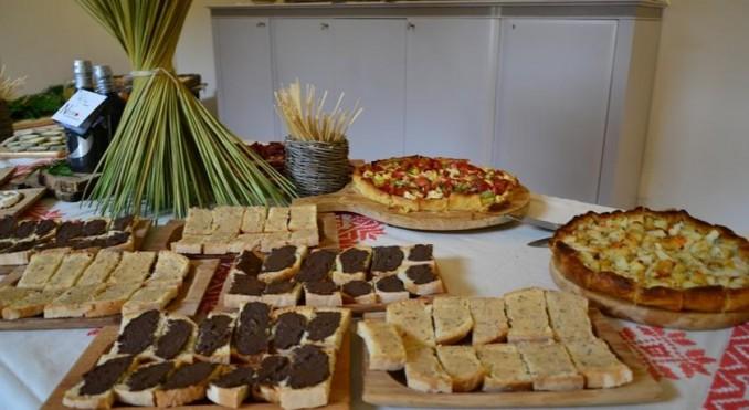 Buffet cibi salati Casale vicino Orvieto