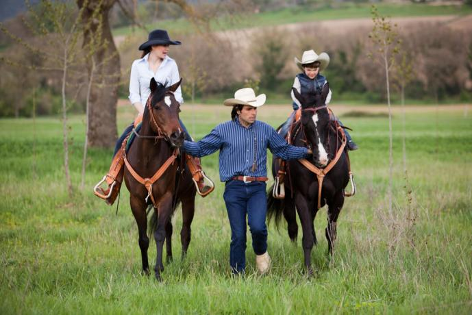 Possibilità di passeggiare a Cavallo