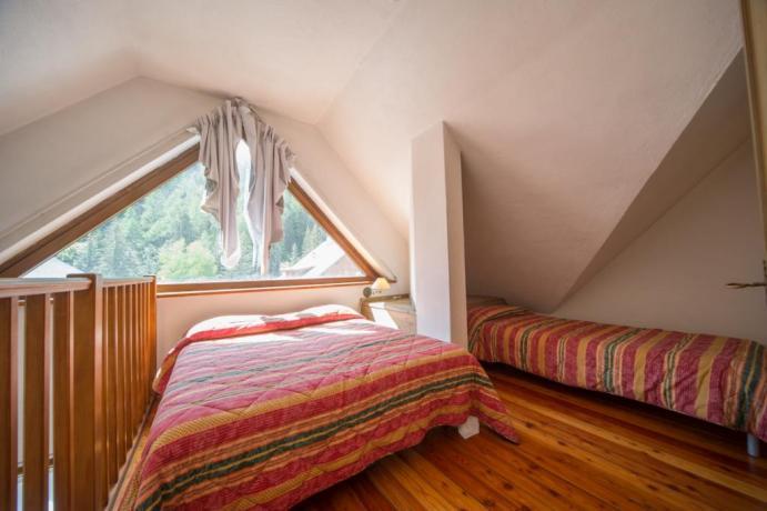 Appartamento-vacanze Bardonecchia 4-5 posti-letto con soppalco