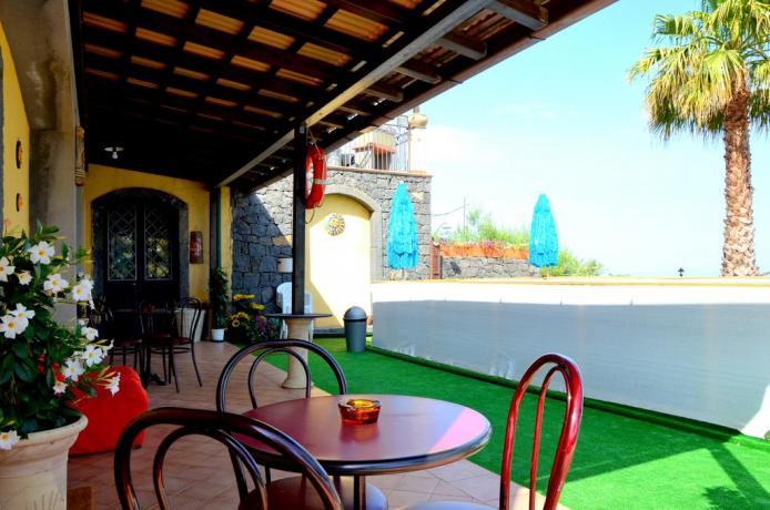 A Santa Venerina B&B con piscina e giardino