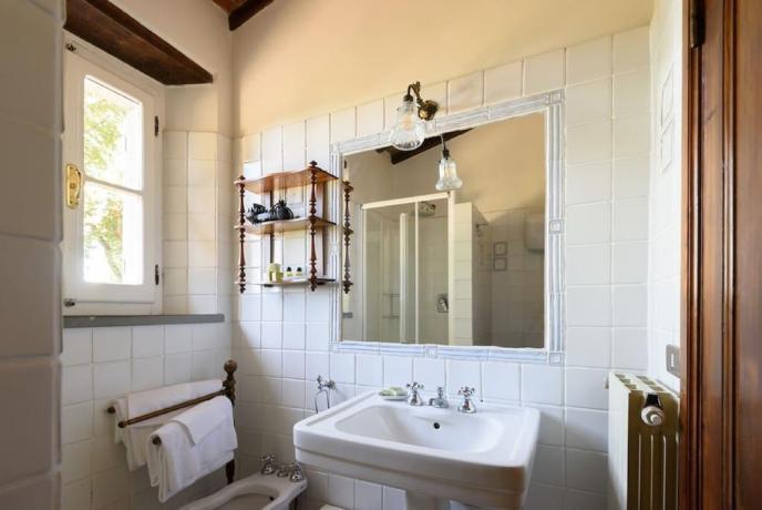 Bagno privato in appartamento Villa Luxury Cortona