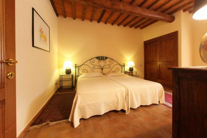 Camera doppia villa tra Umbria e Toscana