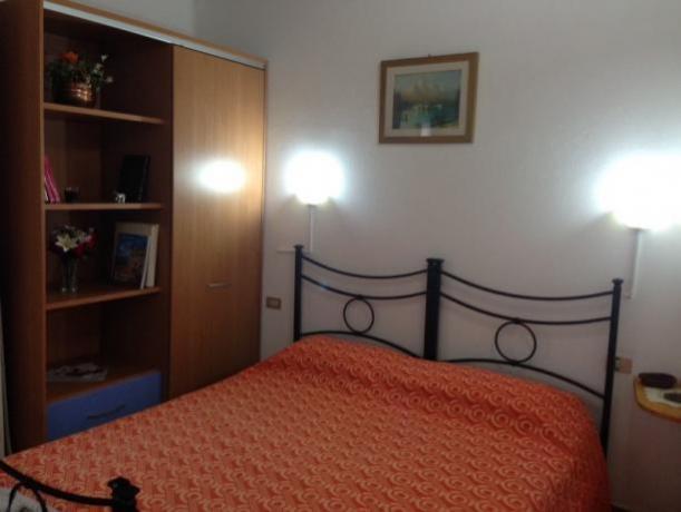 Margherita: camera da letto