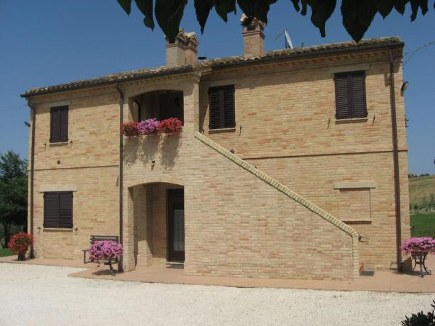 Country house con appartamenti vacanze a Macerata