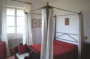 suite family letto baldacchino
