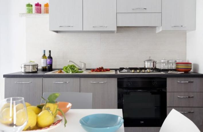 Appartamento-vacanze Deluxe con cucina a Cala Calazza Sicilia