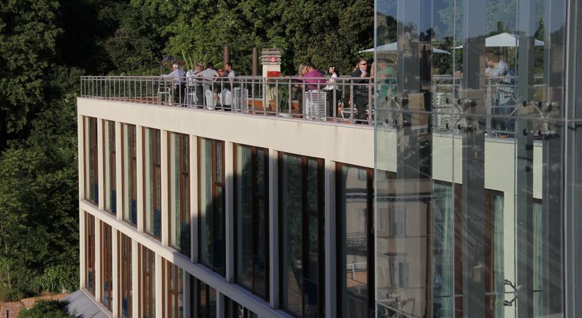 Terrazza con vista sul mare Hotel ad Ancona