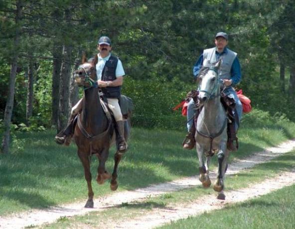 Hotel ideale escursioni a Cavallo in Valnerina