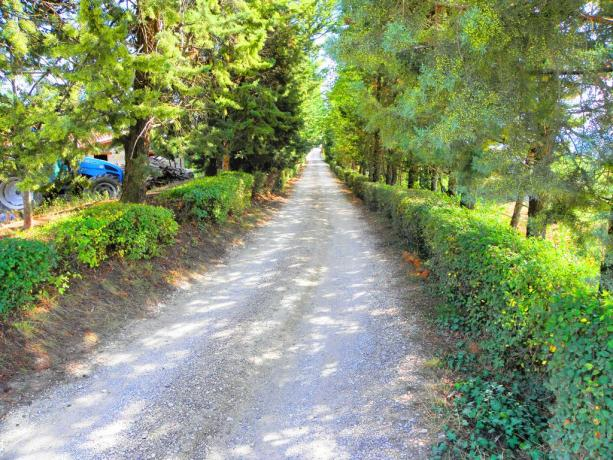 Agriturismo a Gubbio immerso nella natura