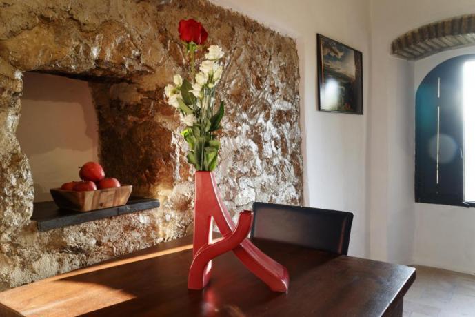 Appartamento-Giolli per 1-persona in borgo-medievale Umbria