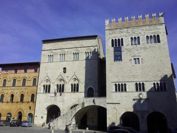 Palazzo del Capitano a Todi
