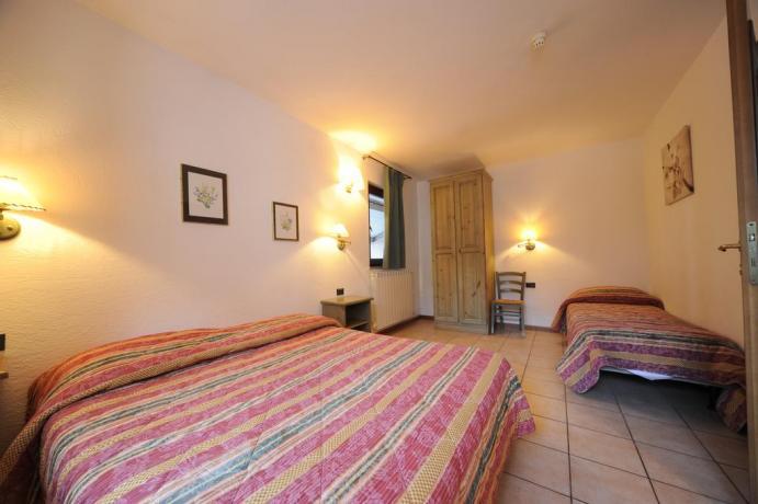 Villa-vacanze Bardonecchia con camere e letti matrimoniali-singoli Piemonte