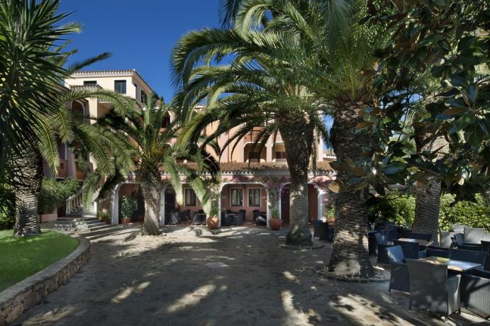 Struttura esterna Hotel in Sardegna ad Orosei