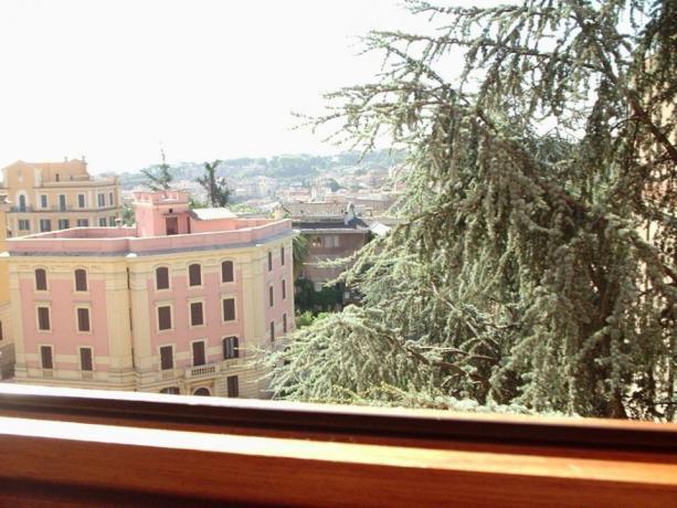Vista panoramica di Roma dal Vaticano