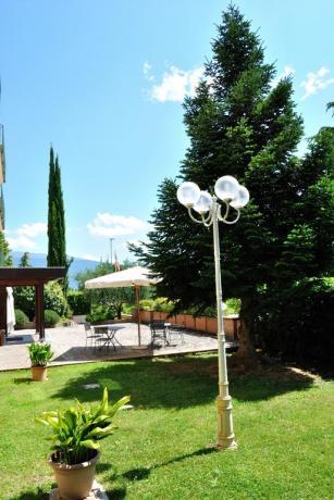 Hotel con giardino attrezzato a Cannara