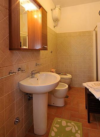 Bagno privato appartamento Trebbiano, agriturismo