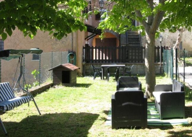 Casa Vacanze Monolocale Abruzzo - Giardino