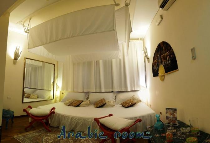 Arabic room con letto extra large