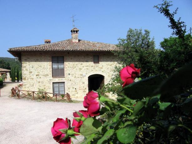 Camere e Appartamenti Canalicchio vicino Spa in Umbria
