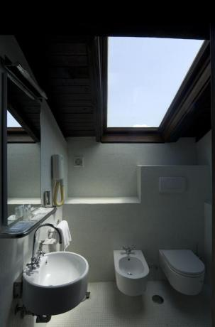 Bagno junior suite in depandance