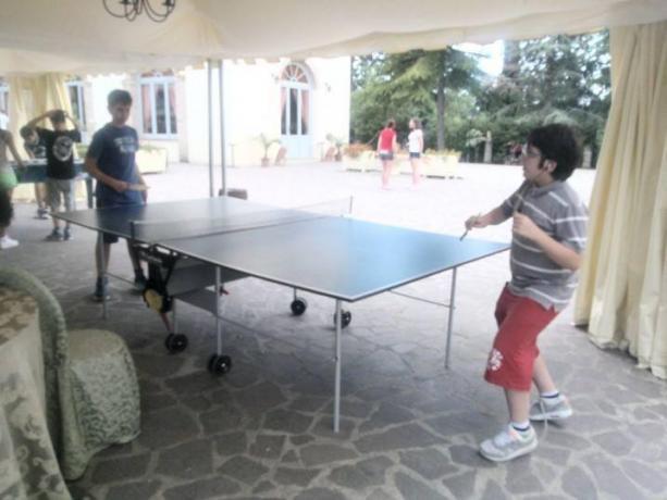 Hotel Citta di Castello con ping pong