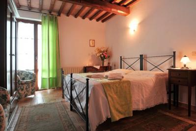 Camere in stile tipico toscano