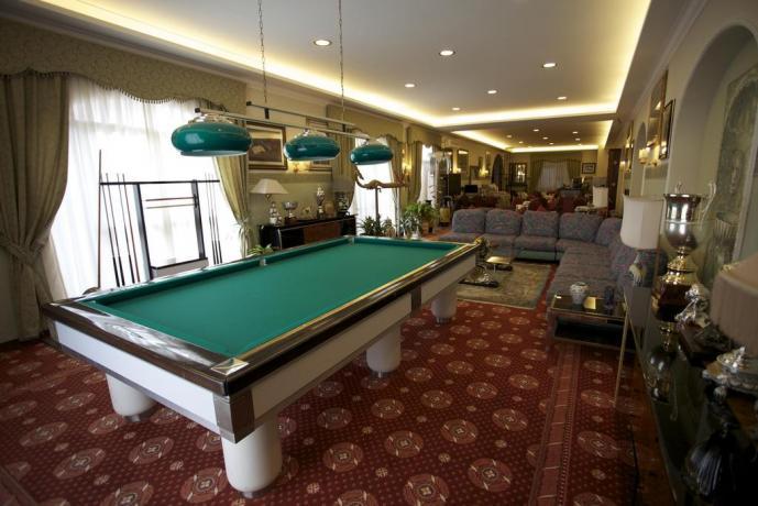 Sala biliardo hotel 3 stelle lungomare Anzio