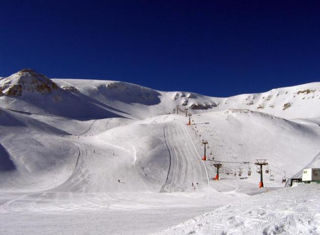 Piste da sci vicino country house Monte Amiata