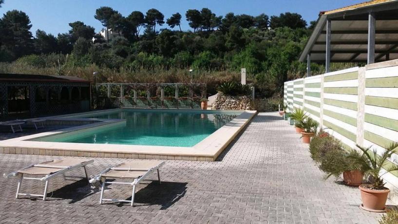 Residence con piscina a Vieste