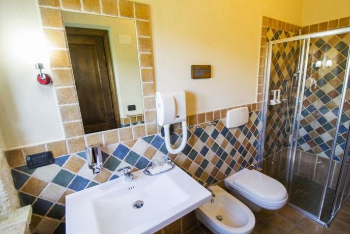 Bagno Suite Cassiopea Agriturismo Borgo Antico