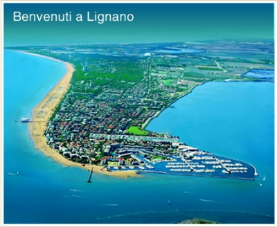 Town of Lignano, Hotel at low prices