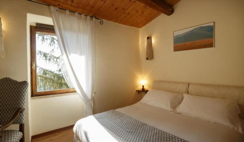 Camera Matrimoniale Appartamento Le Viole Borgo-sul-Clitunno