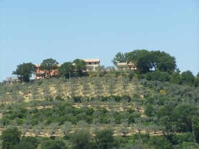 Agriturismo sulle colline umbre