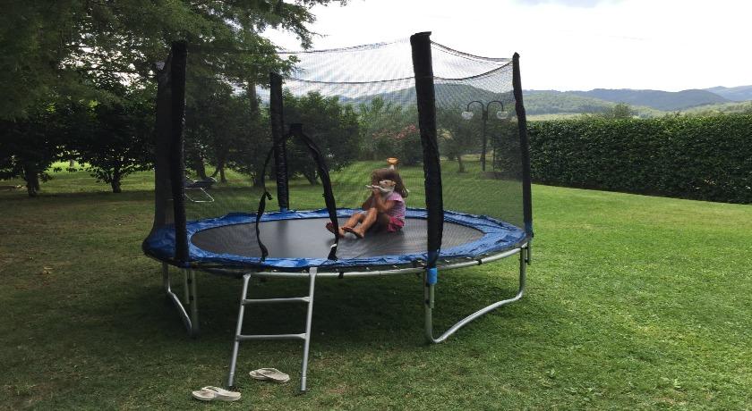Palestra verde in agriturismo a Spoleto