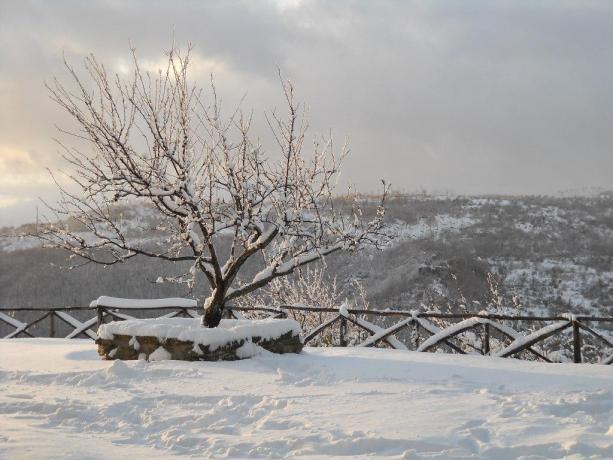 Casolare di Gubbio con vista panoramica