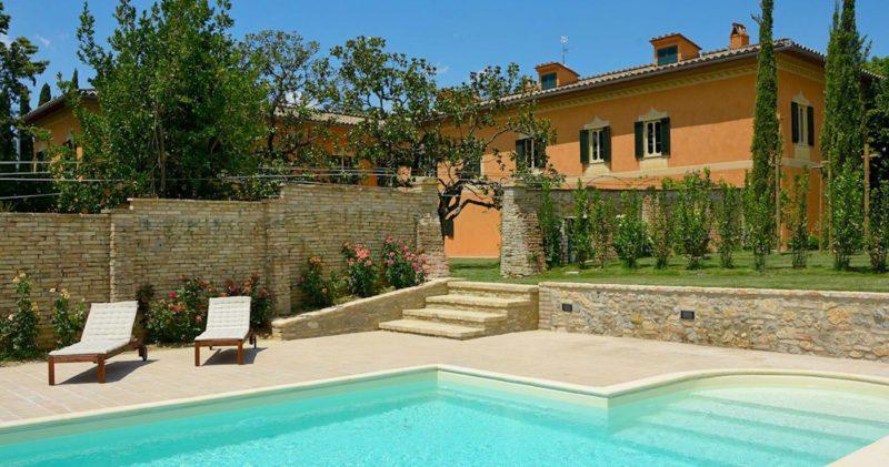Villa esclusiva con suite e piscina panoramica Perugia
