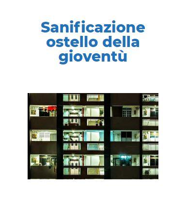 Sanificazione e Disinfezione Certificata CORONAVIRUS: Ostello-Gioventu Roma
