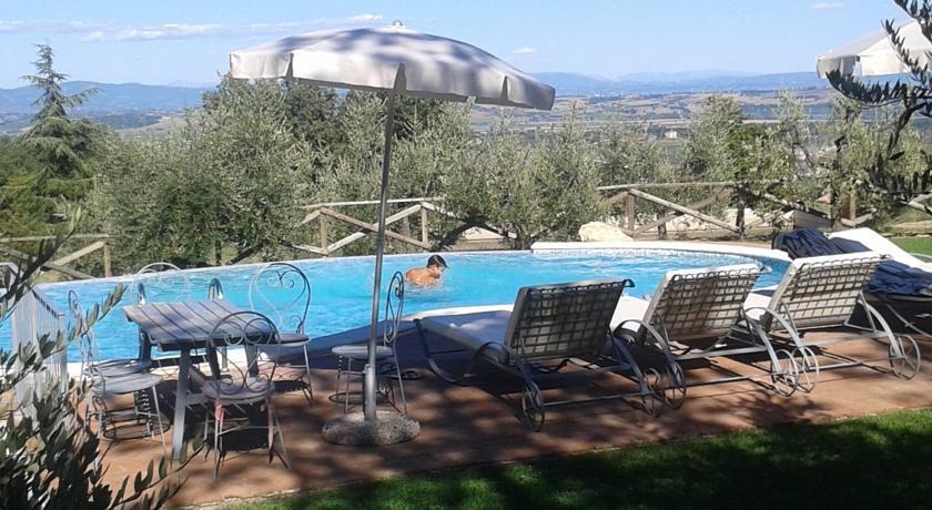 piscina della villa
